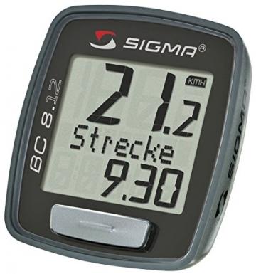 Sigma Sport Fahrradcomputer BC 8.12 -